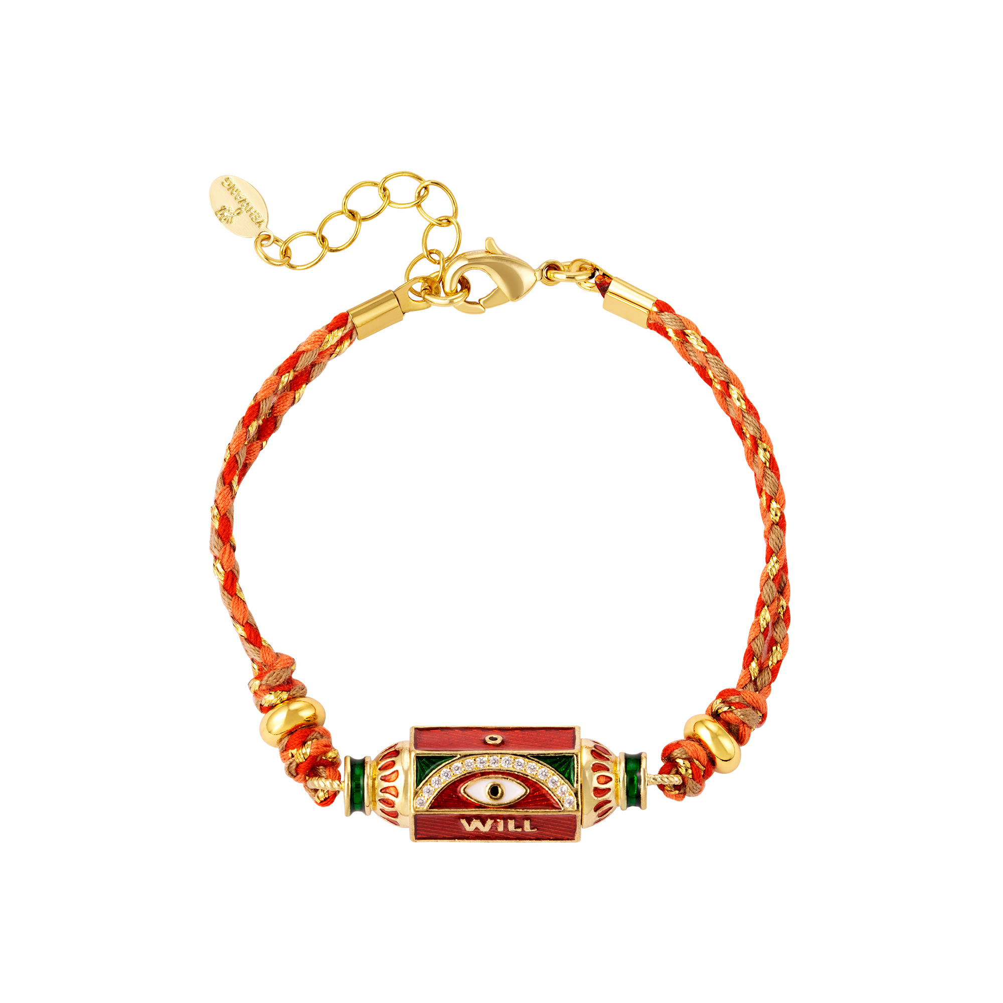 Gold plated bracelet Will