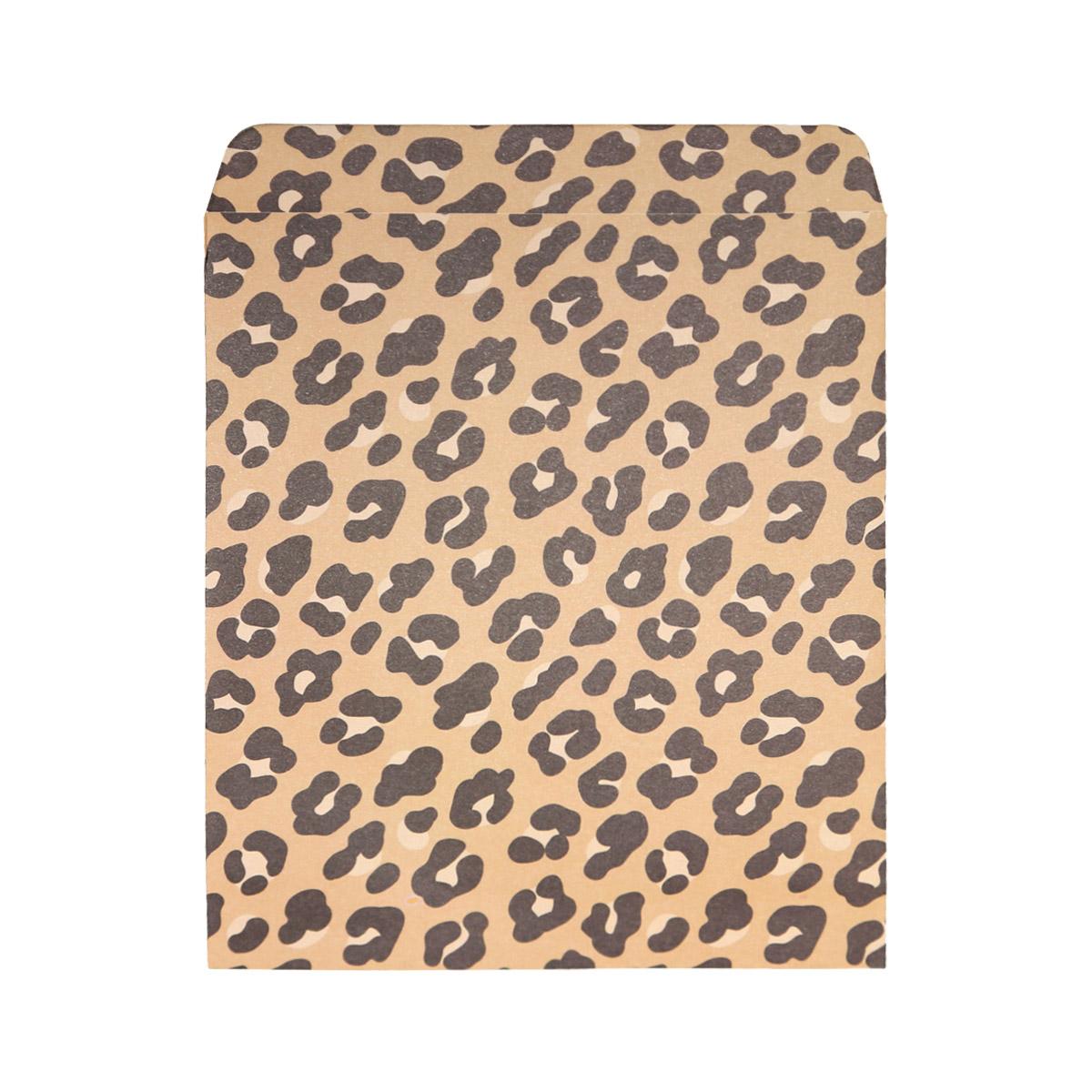 Gift Bag Pink Leopard Large
