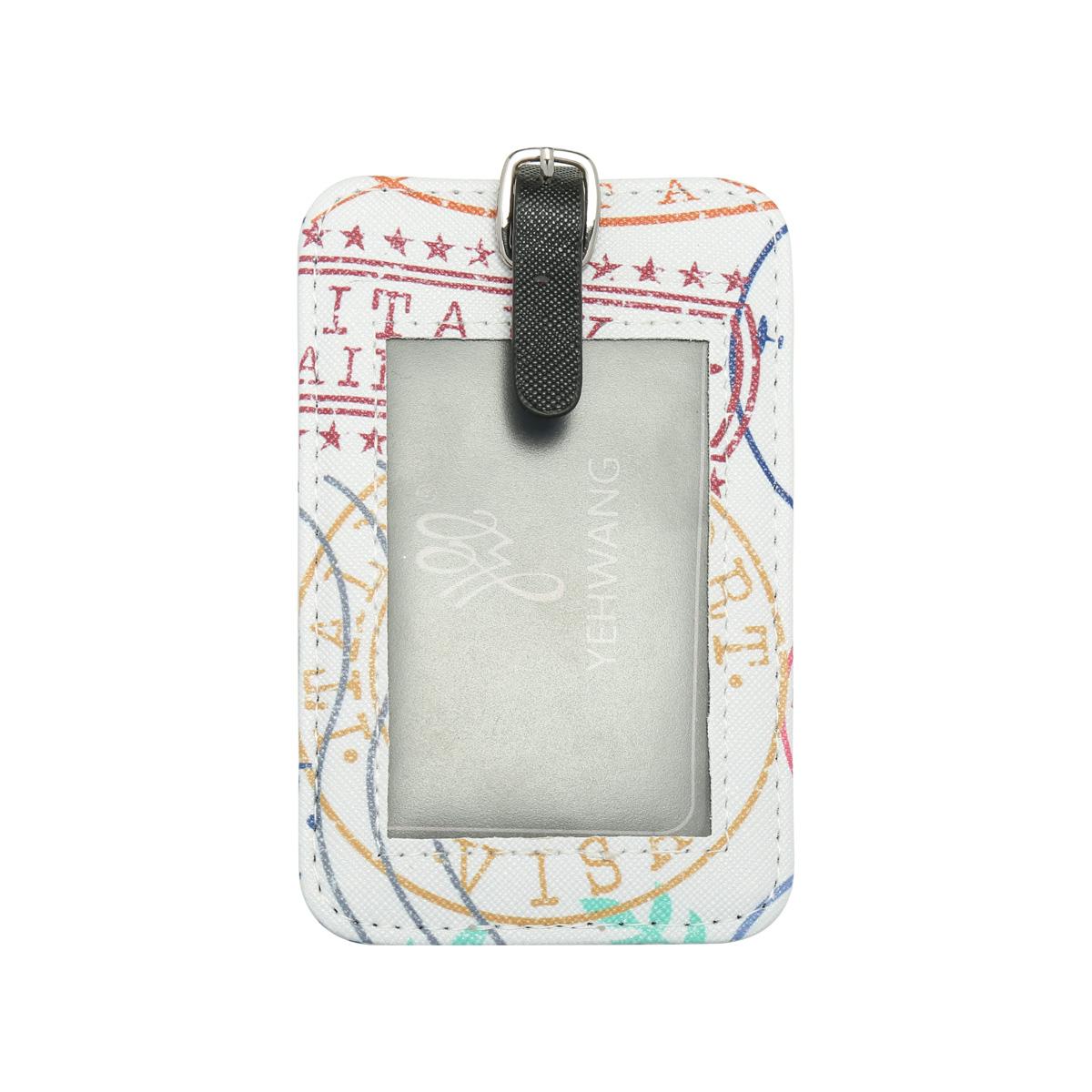 Suitcase tag Voyage