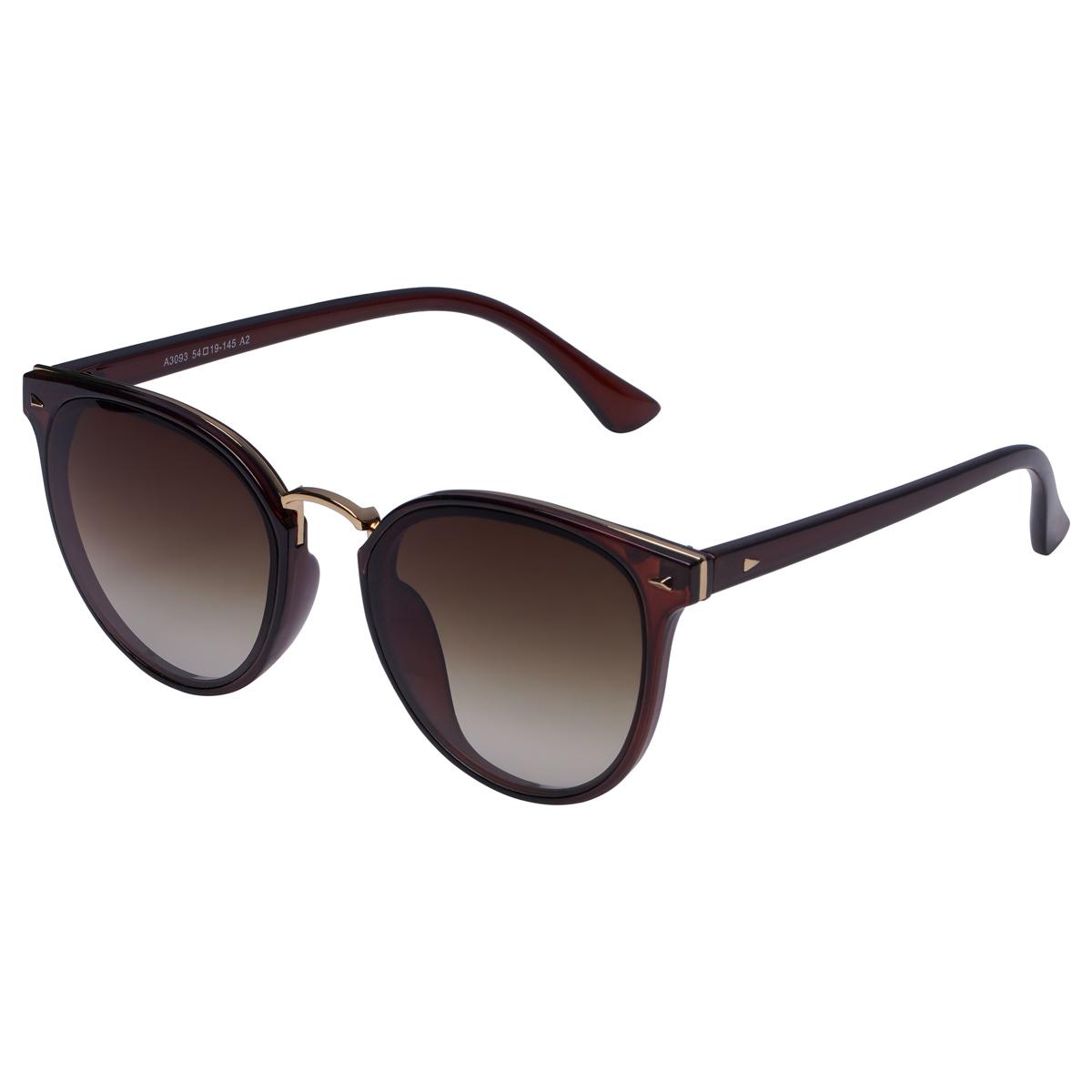 Schwarze sonnenbrille mit dunkel getönter brille