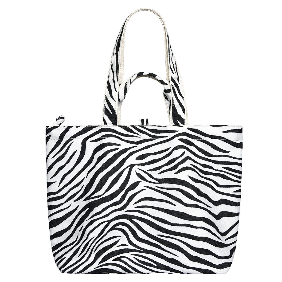 Draagtas zebra