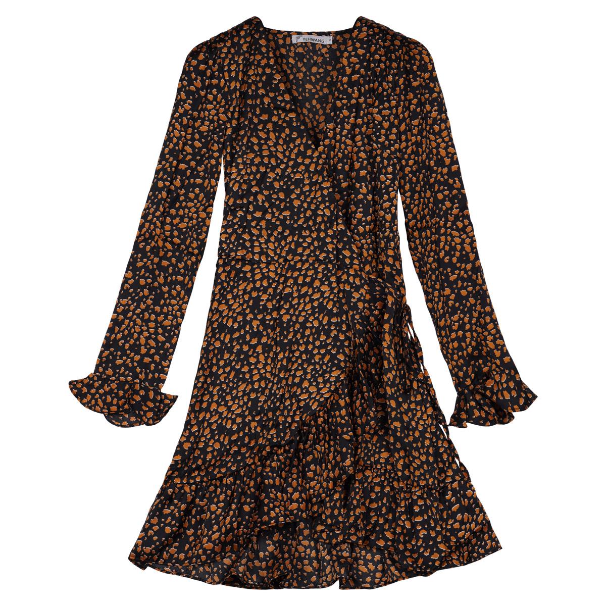 Kleid animal spots
