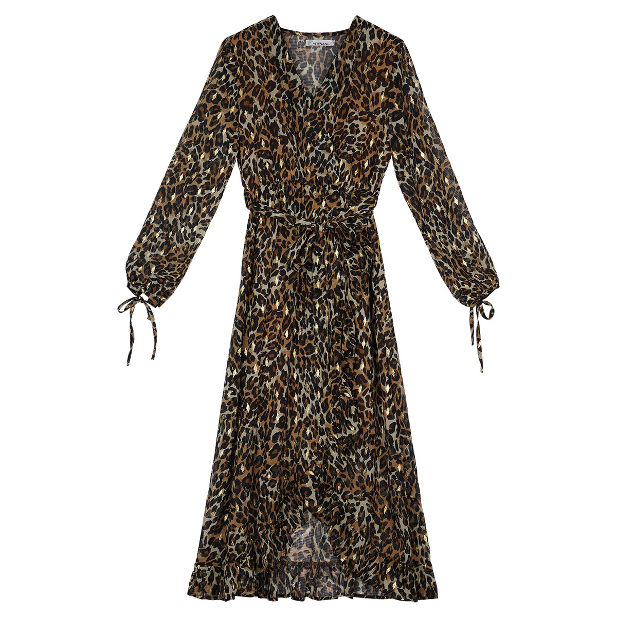 Kleid flying panther long
