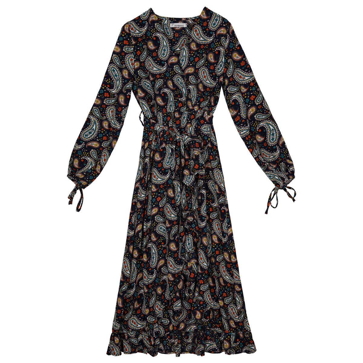 Kleid paisley print