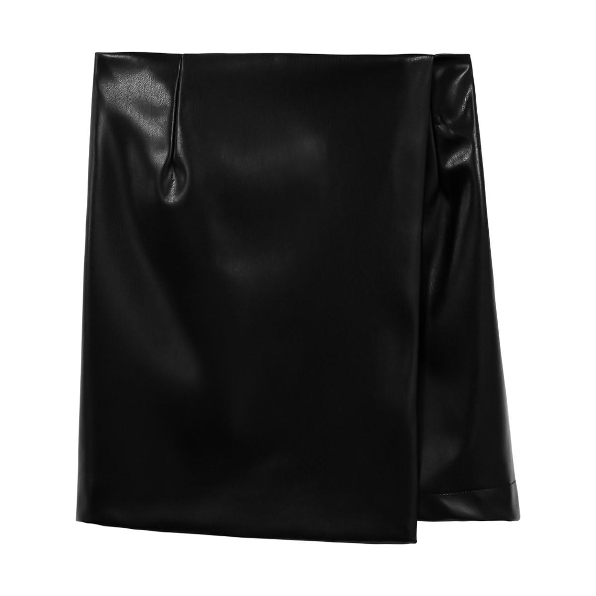 Skorts leather look