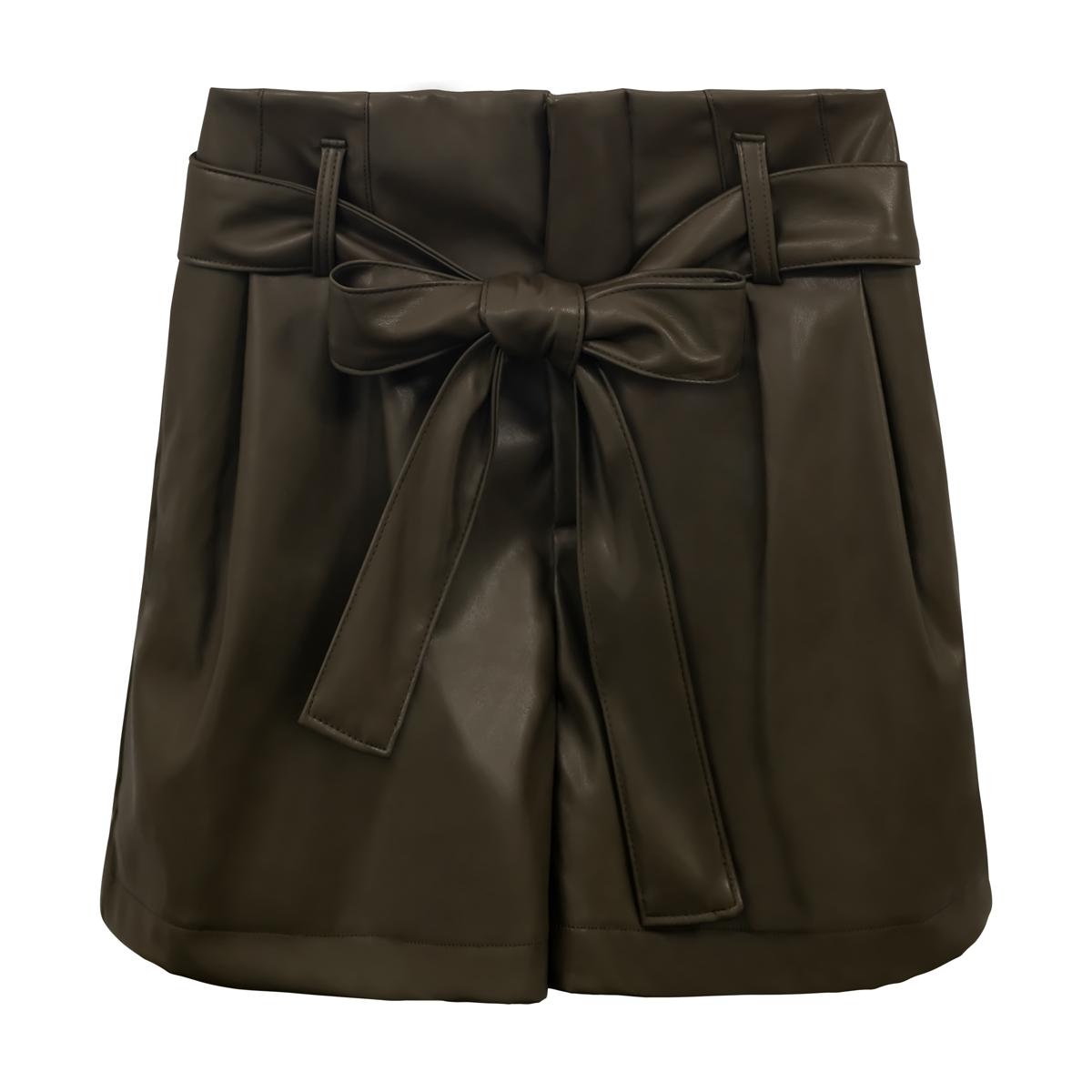 Kurz leather bow