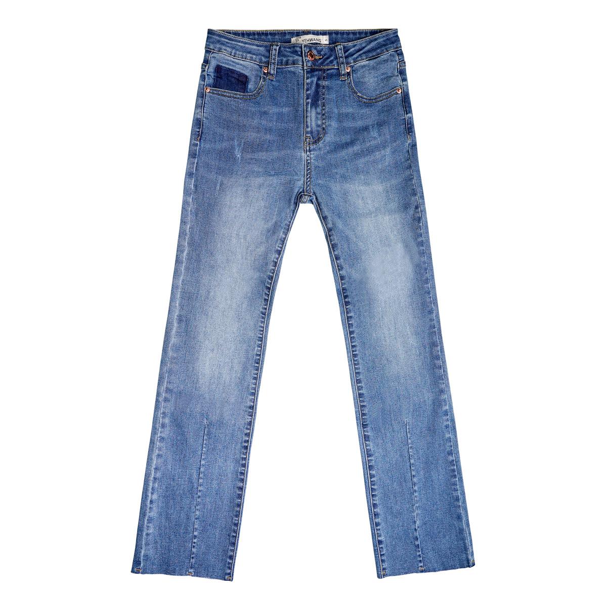 Enkellange stretch jeans