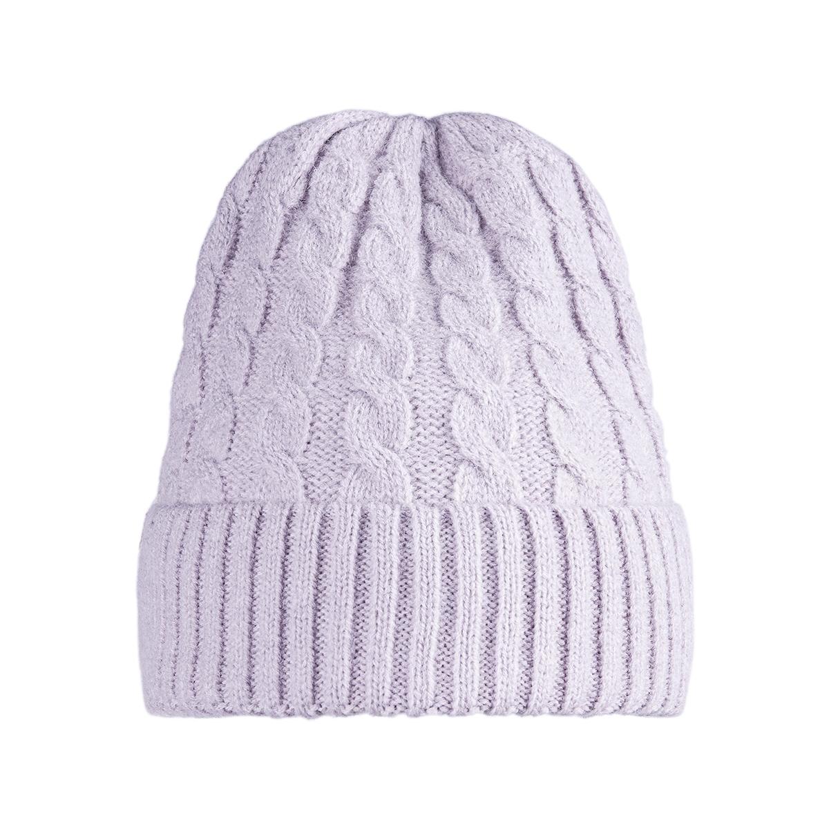 Hat winter knit