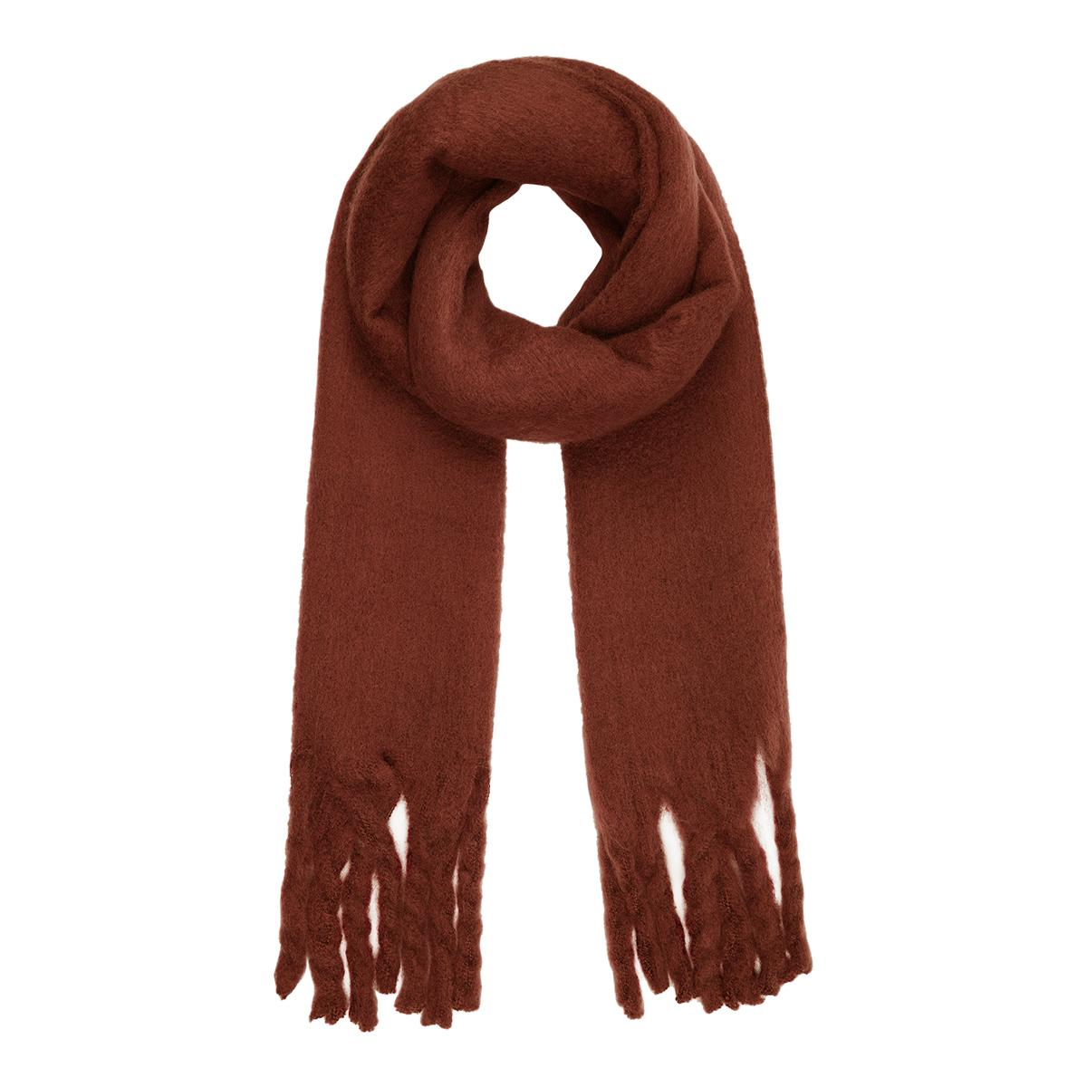 Bufanda de invierno color liso
