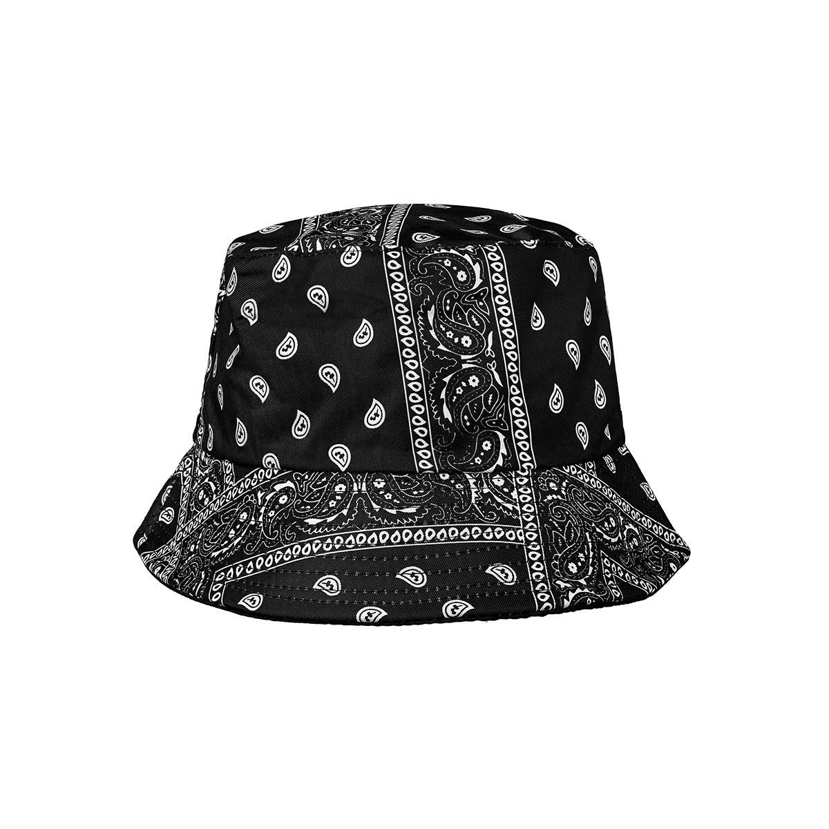 Sombrero de pescador con estampado de bandana