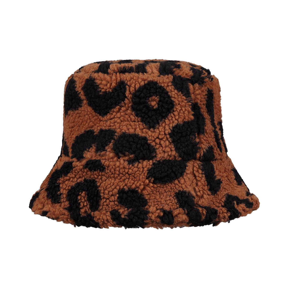 Sombrero de pescador teddy leopard