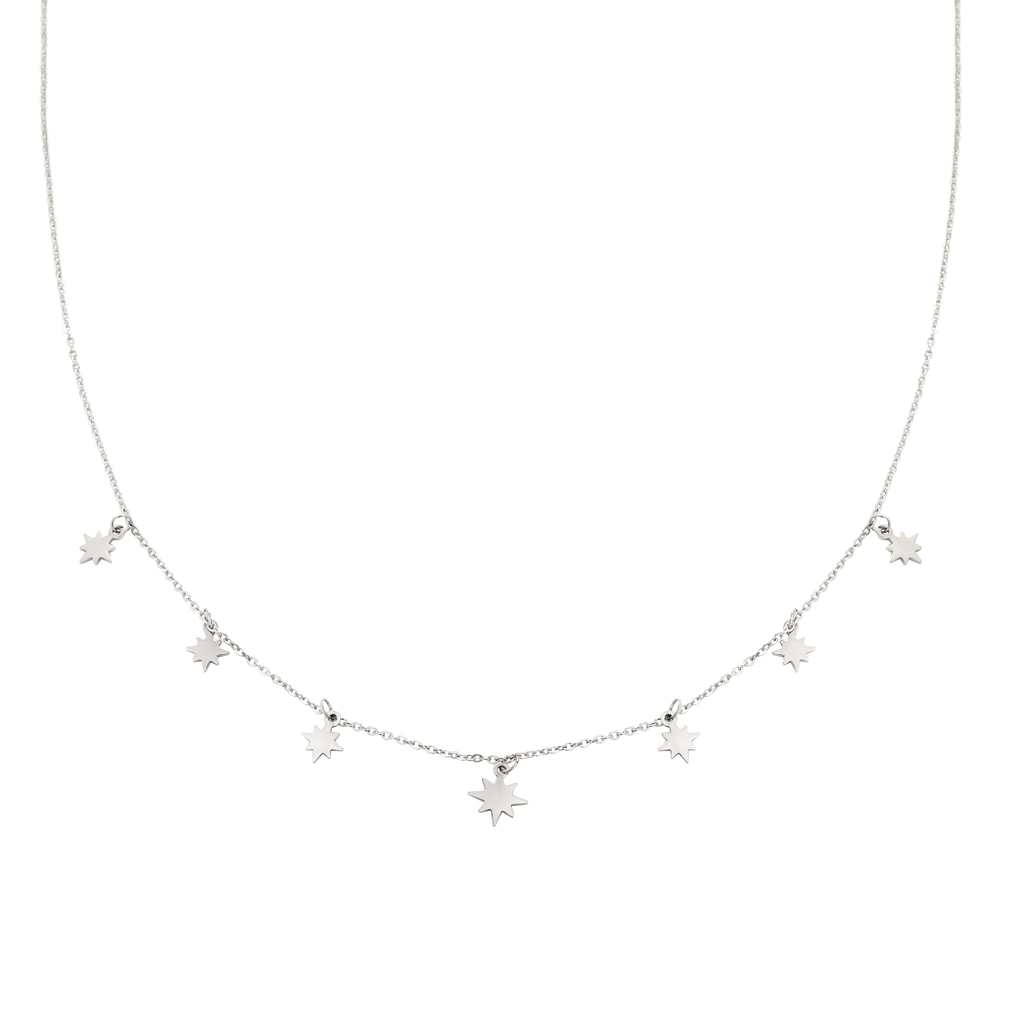 Necklace Counting Stars