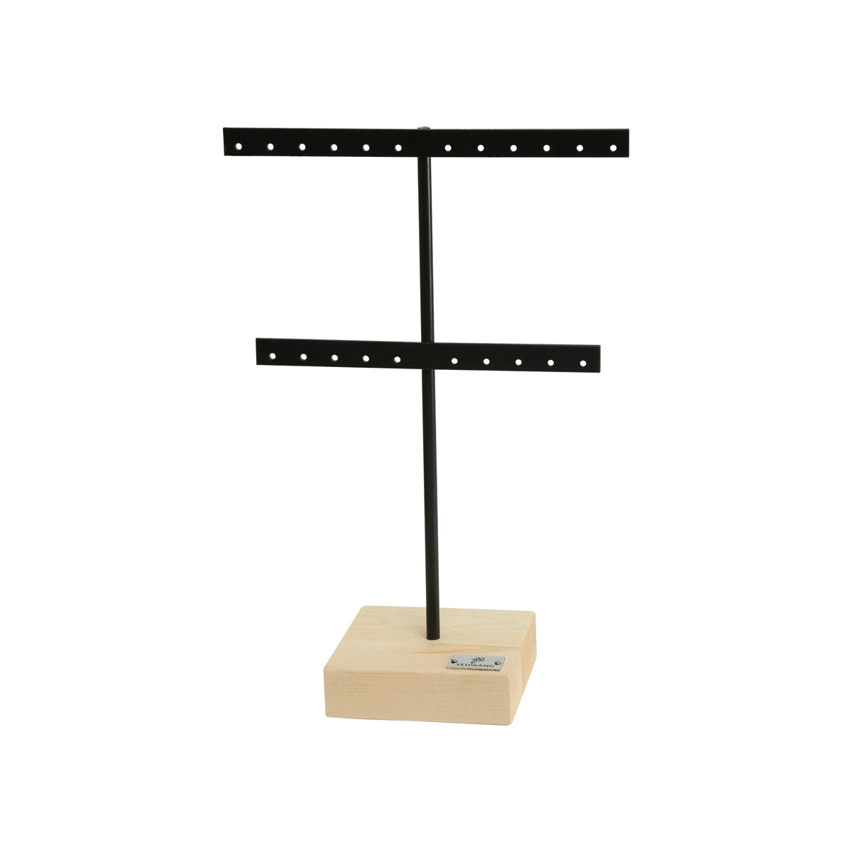 Display t shaped  ohrringe