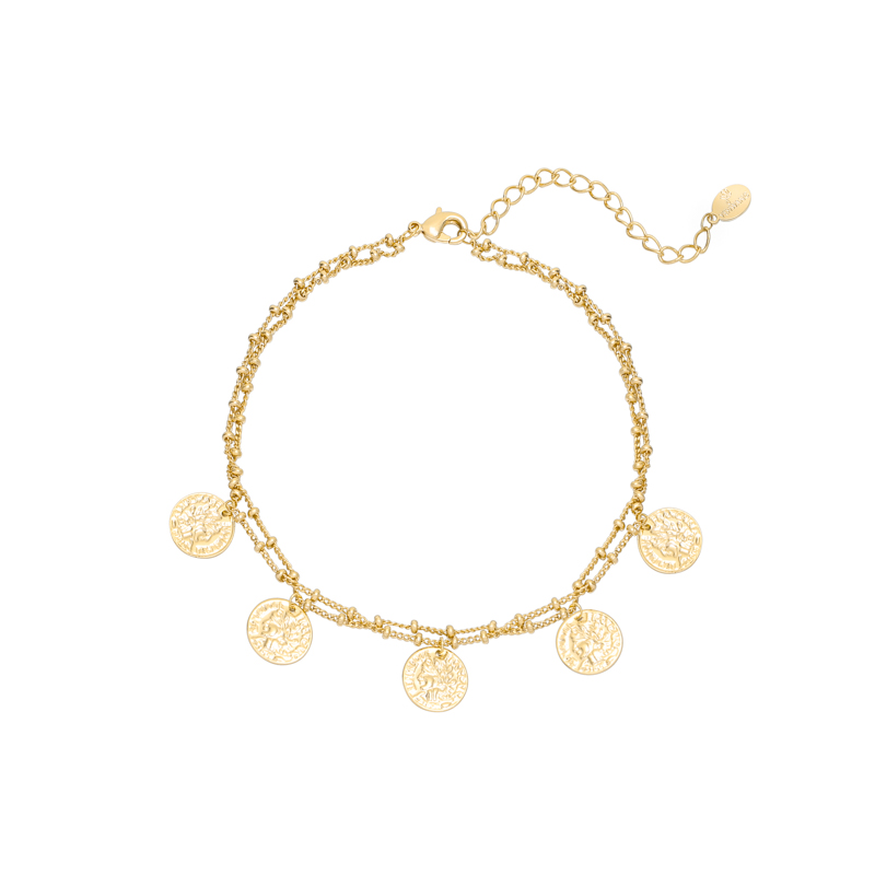Anklet Double Coin
