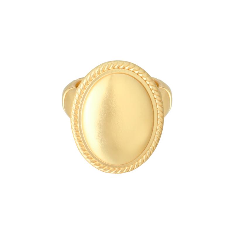 Ring Big Medallion