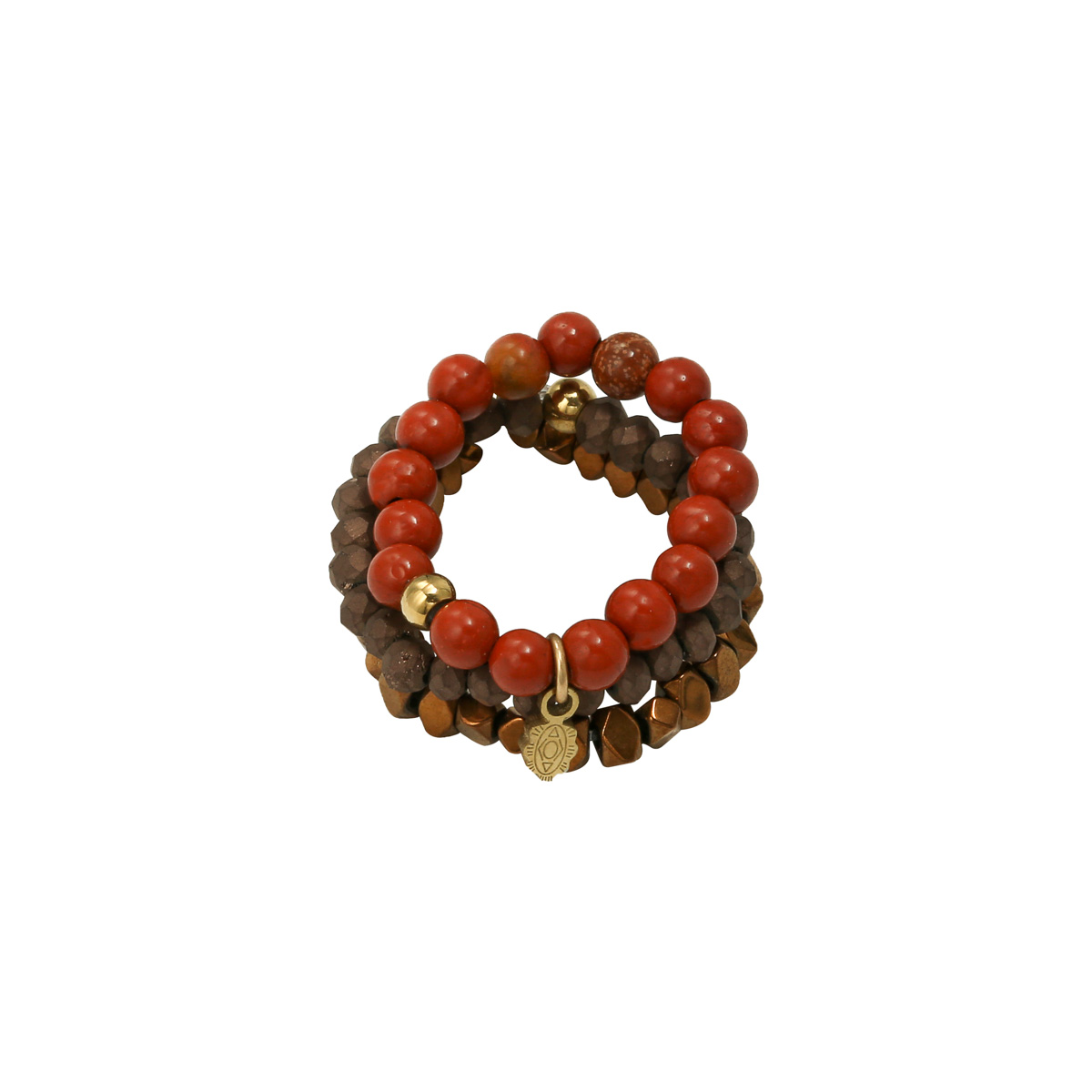 Ring Beads and Charm