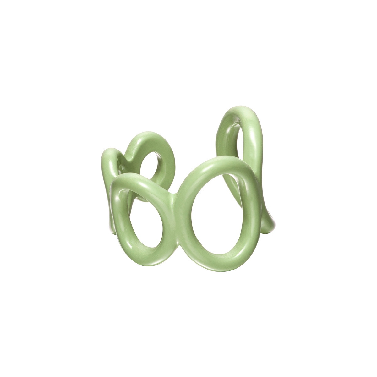 Adjustable candy ring circles