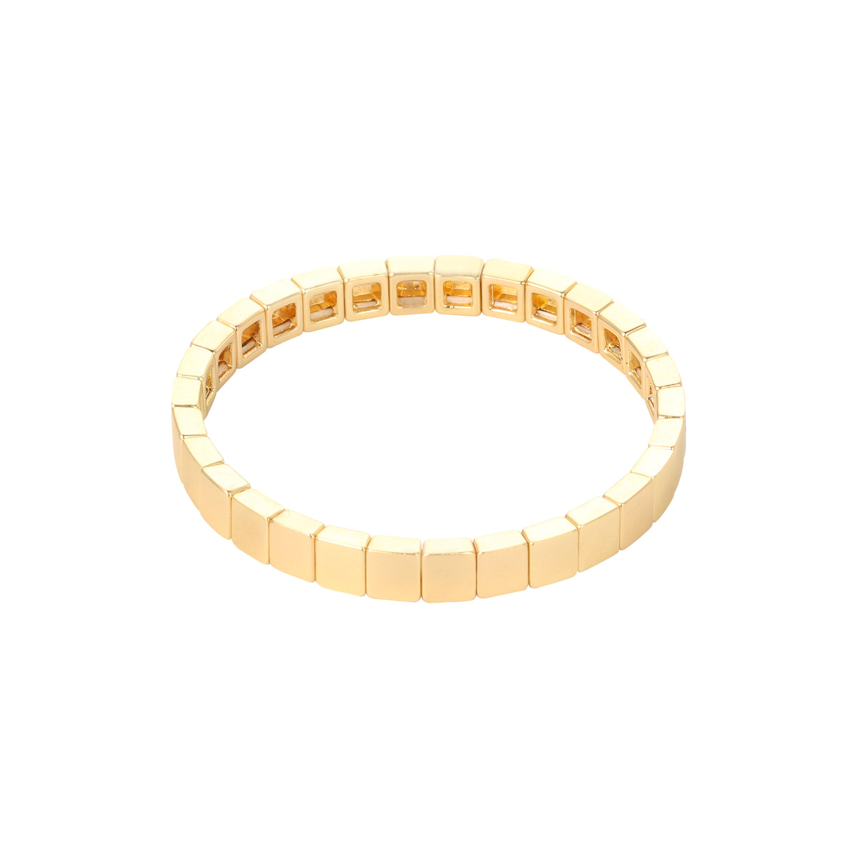 Pulsera Bricks Golden
