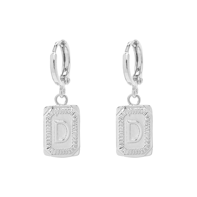 Antique Earrings Initial D