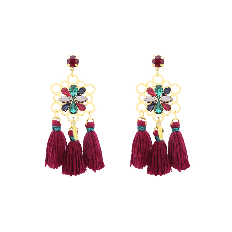 Earrings Flower Party
