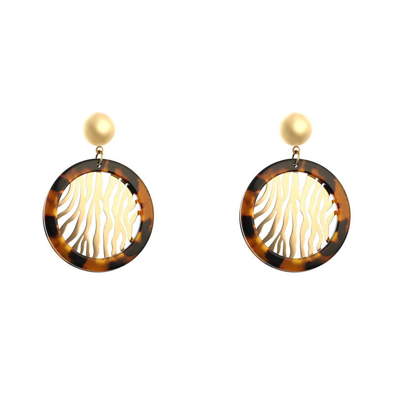 Earrings Classy Zebra