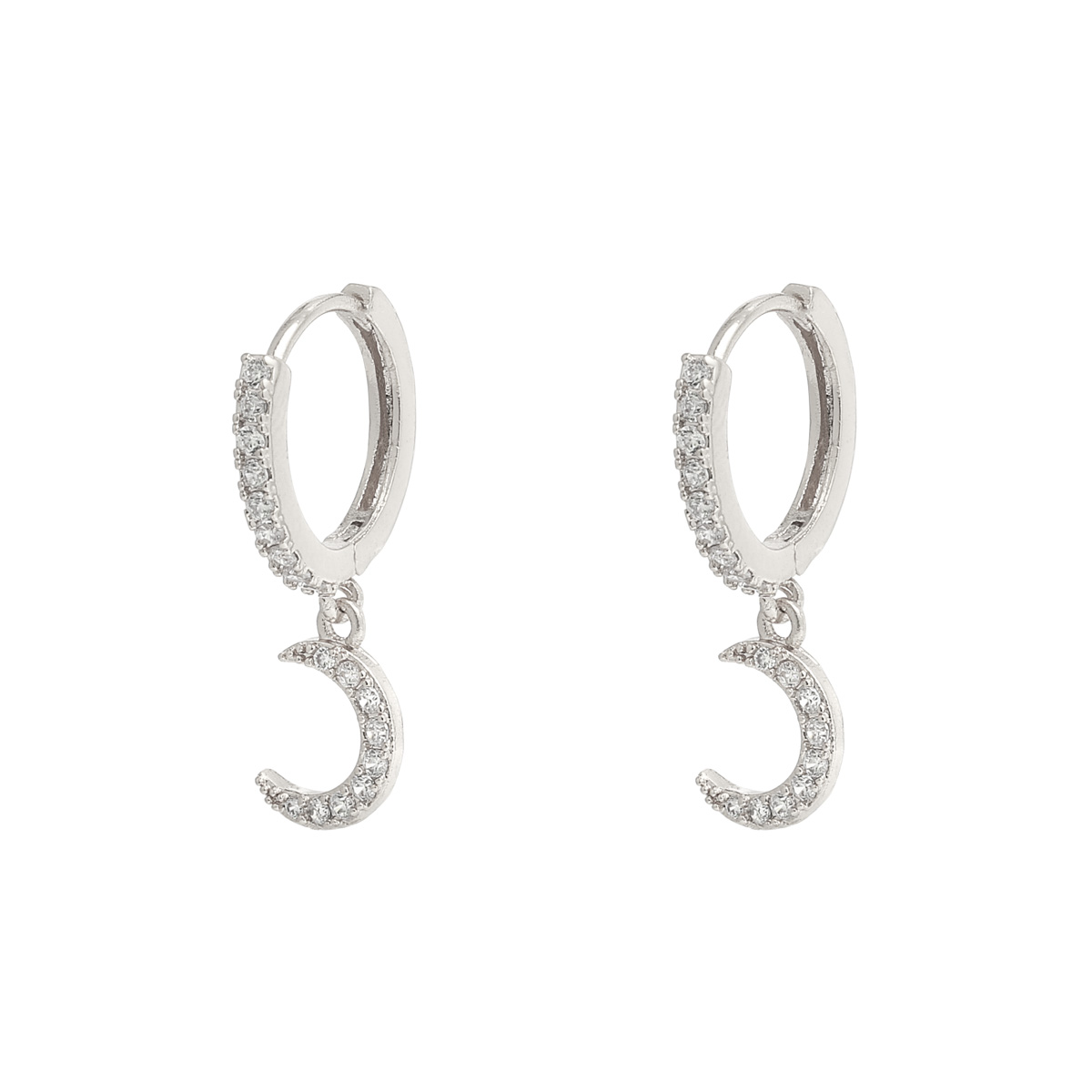 Earrings Sparkling Moon