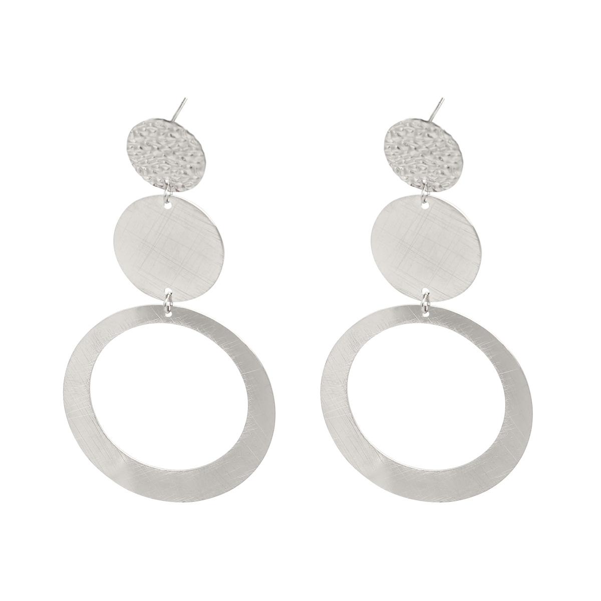 Earrings Triple Circles