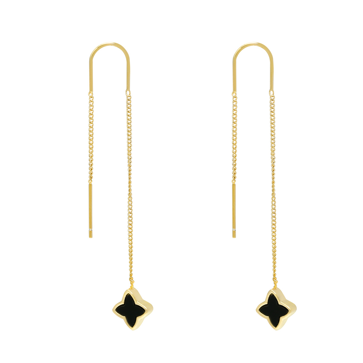 Aretes Dangle -  Clover