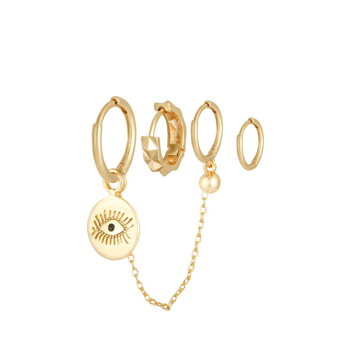 Oorbellen Set Diamond Eye