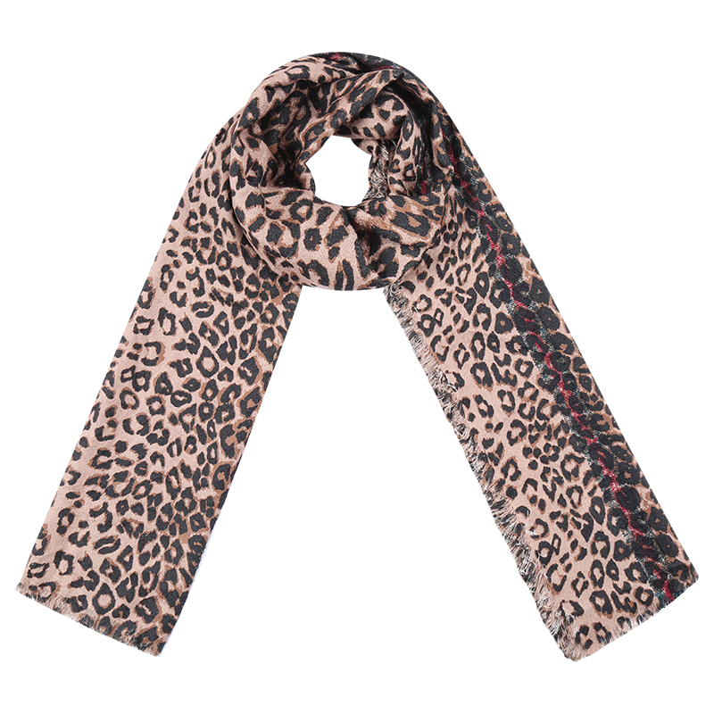 Scarf Leopard Vibes