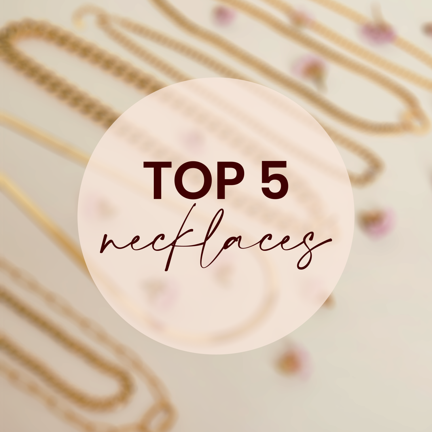 Bestseller top 5 necklaces
