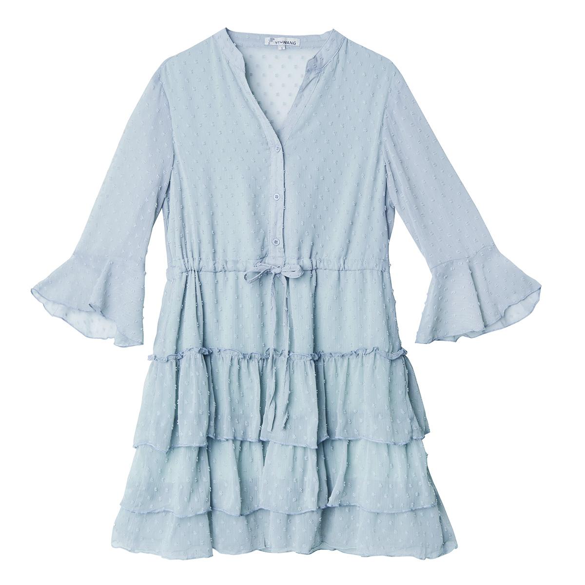 Kleid frill spots