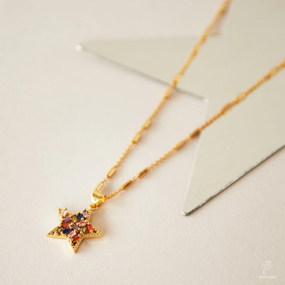 Collar Zircon Star