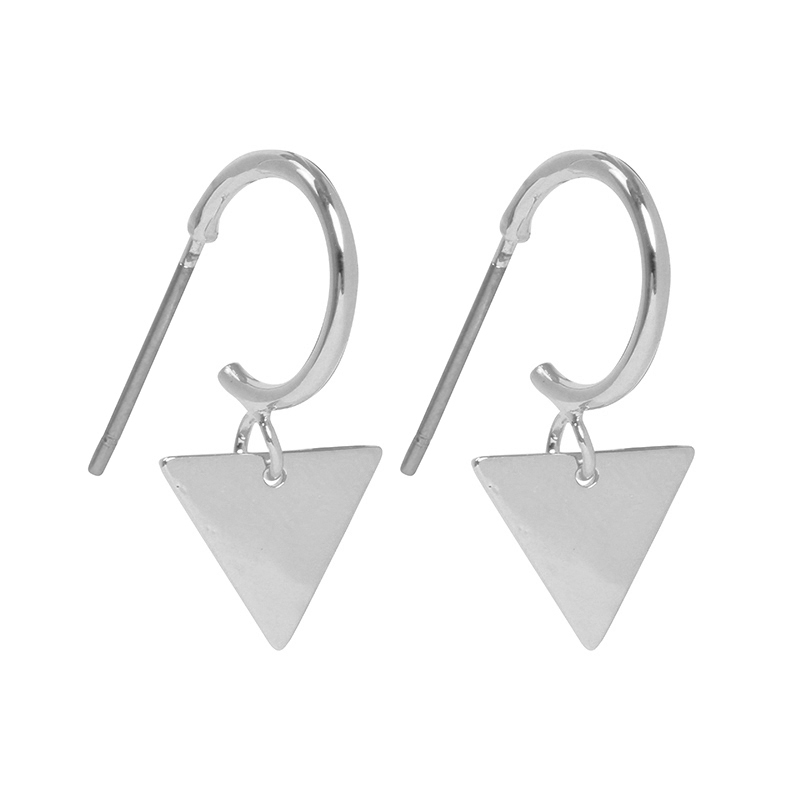 Earrings Dangle Triangle