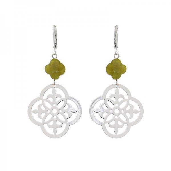 Earrings Hit -green-