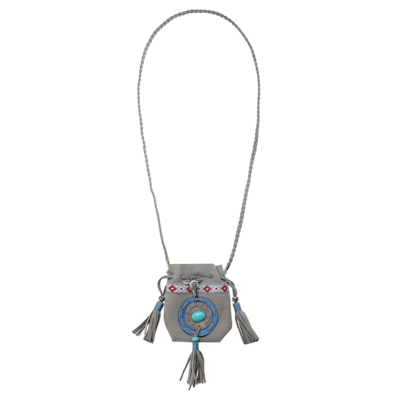Necklace Buffalo Pouch
