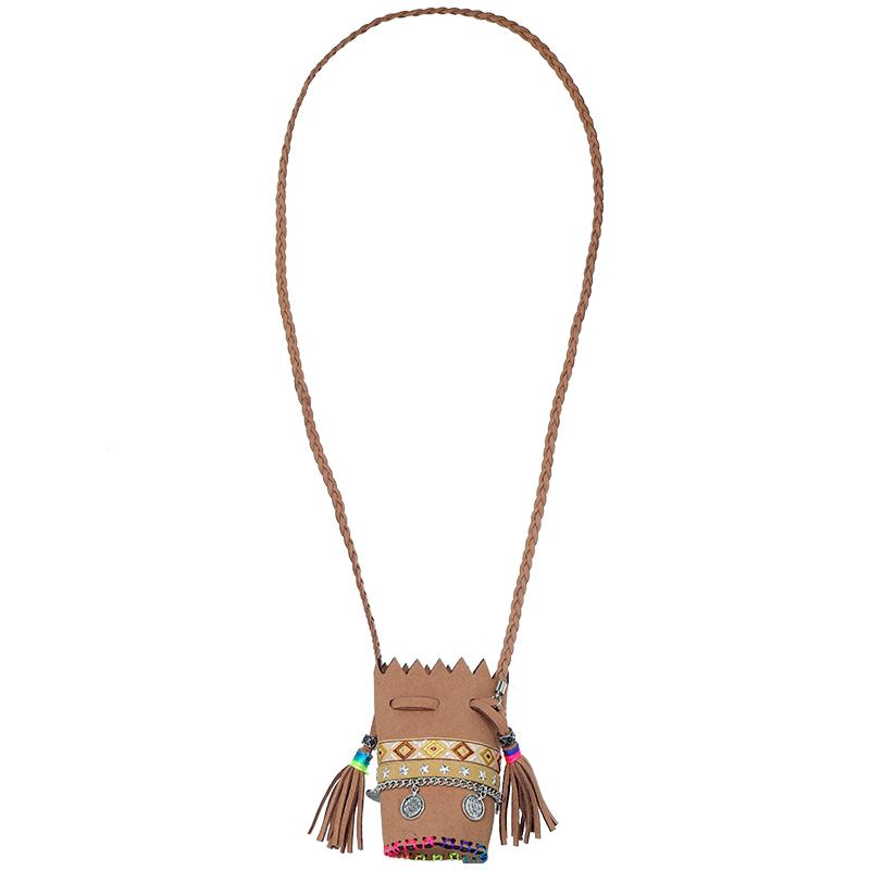 Necklace Boho Bag Tassel