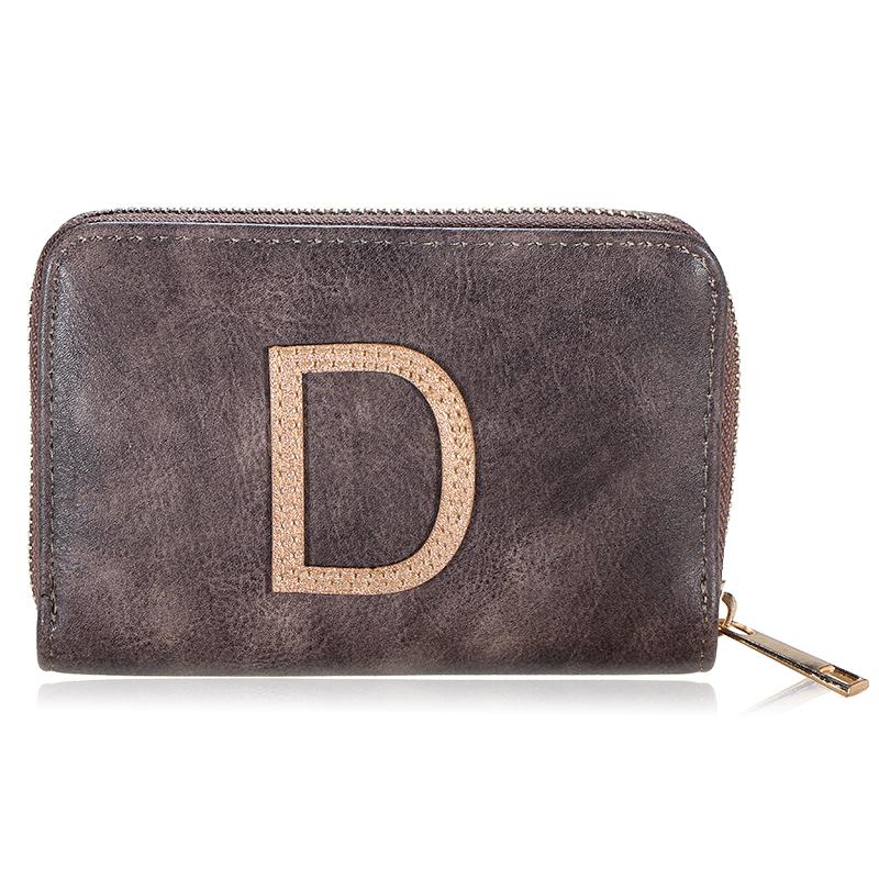 Wallet One Letter - D