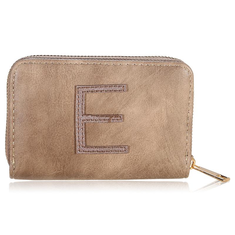Wallet One Letter - E
