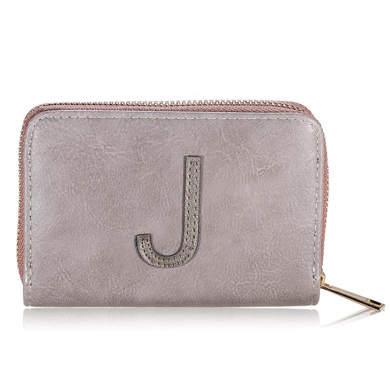 Wallet One Letter - J
