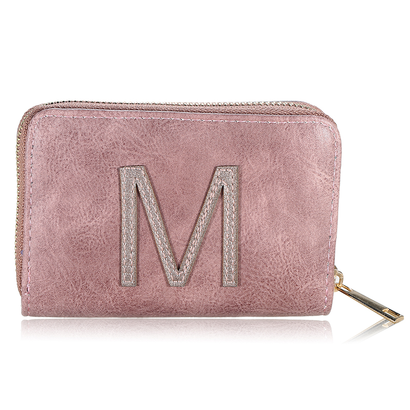 Wallet One Letter - M