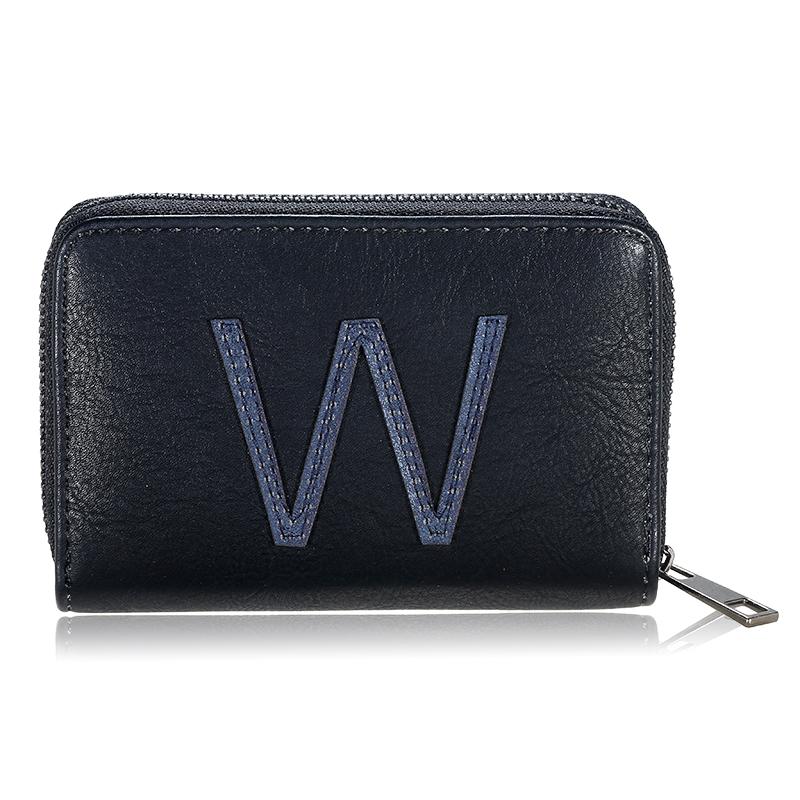 Wallet One Letter- W
