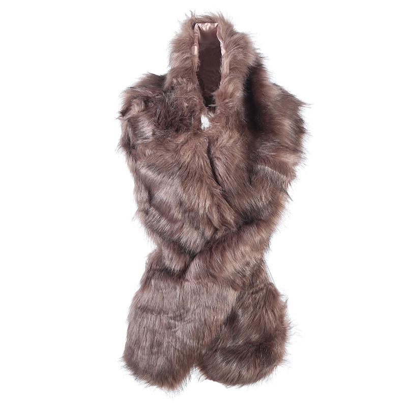 Scarf fake fur