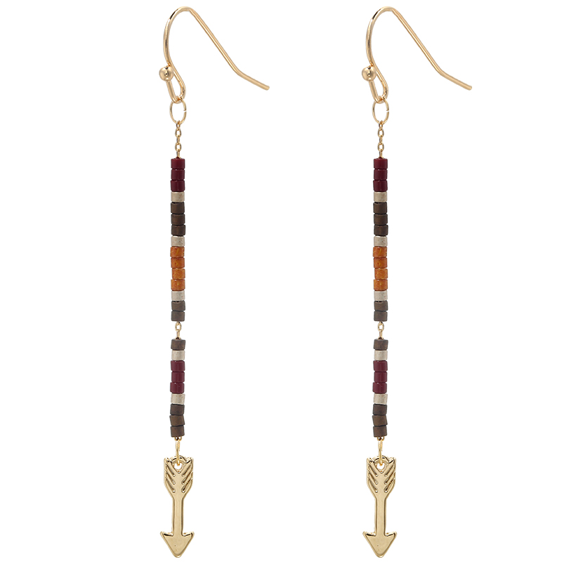 Earrings Indian Arrow