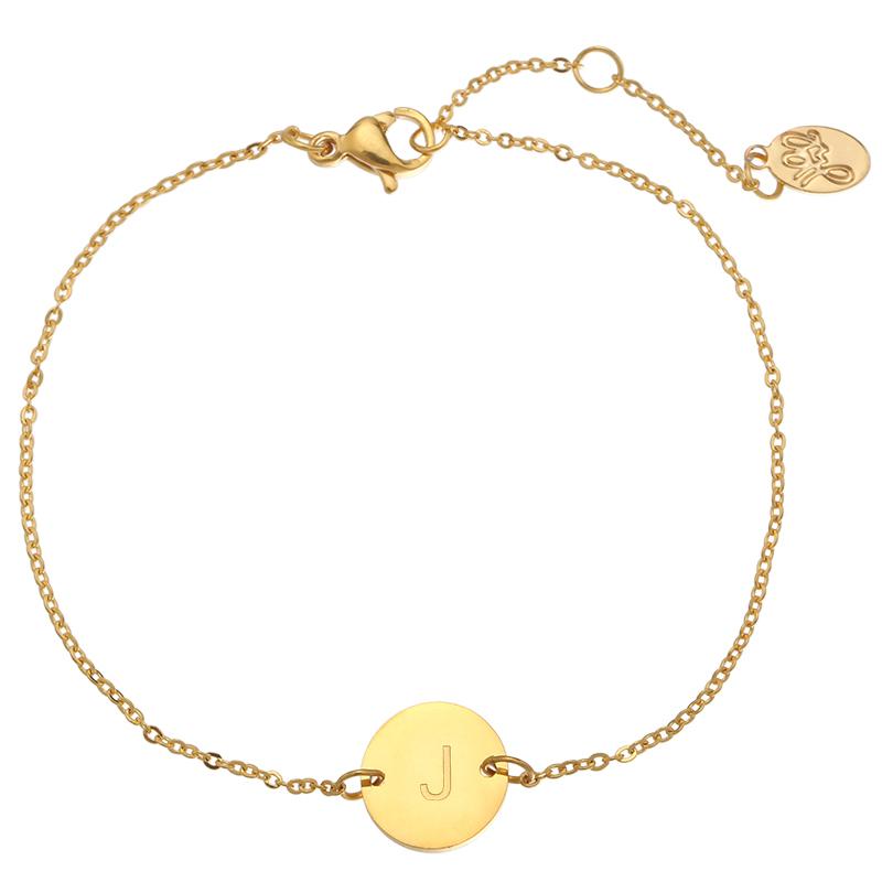 Armband Coin -J-