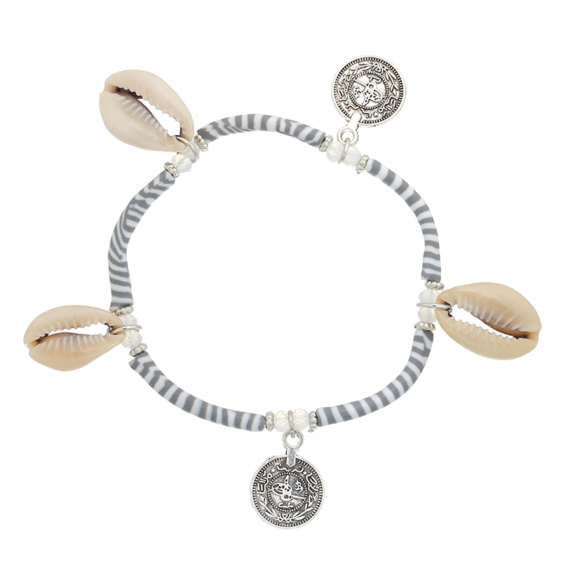 Bracelet Shells & Stripes