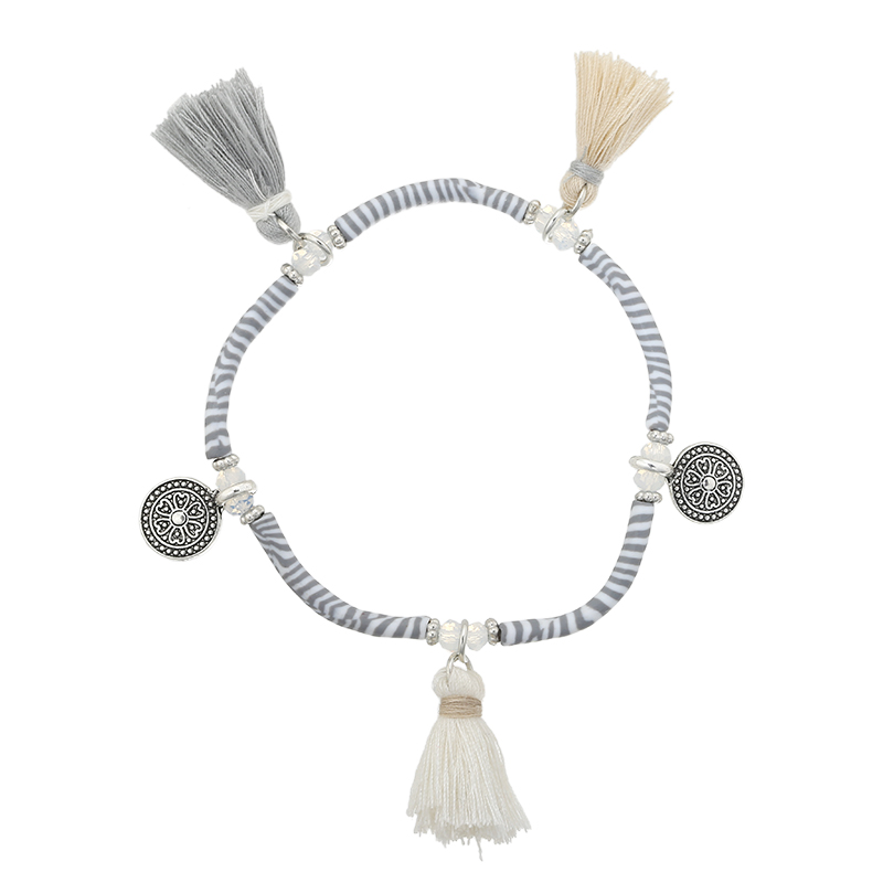 Bracelet Tassels & Stripes