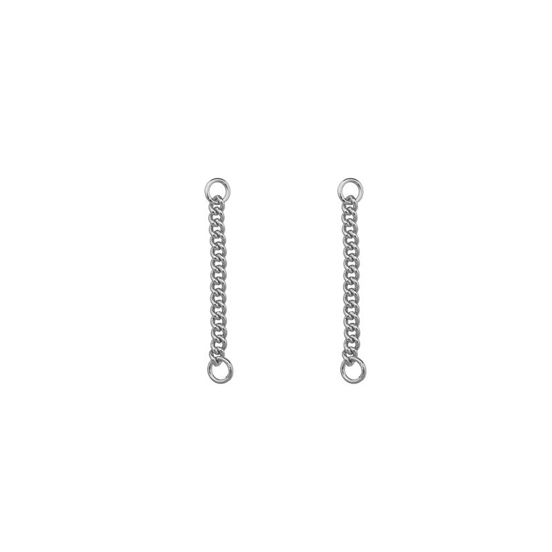 Earrings Loose Chain