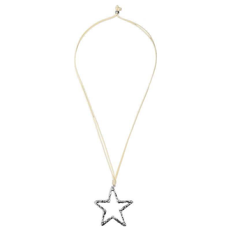 Necklace Metal Star