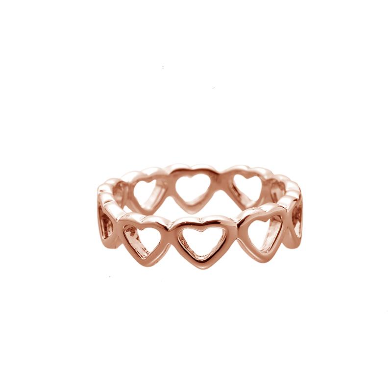 Ring Row of Hearts #17